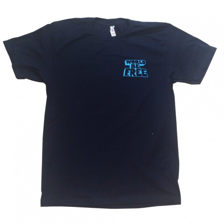 """Globe"" T-shirt NAVY BLUE"