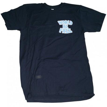 """Bubble"" T-shirt NAVY BLUE"