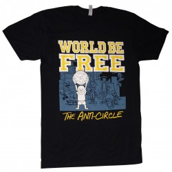 """Anti-Circle characters"" T-shirt BLACK"