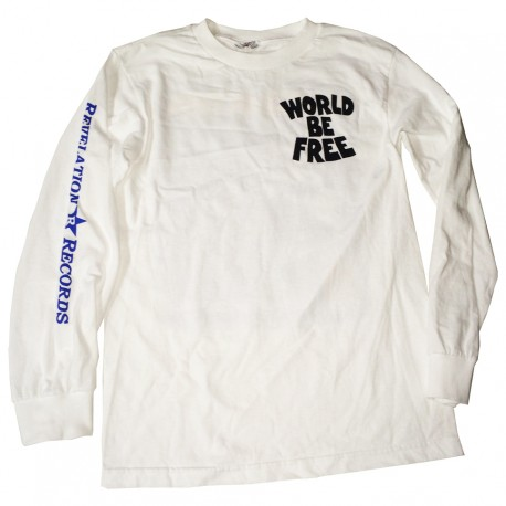 """Breakout or Busted"" Longsleeve T-shirt WHITE"