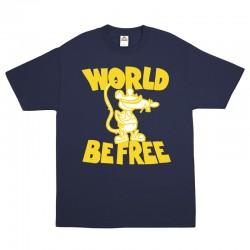 """Rat"" Limited T-shirt NAVY BLUE"
