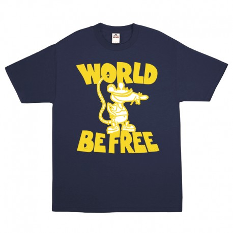 """Rat"" Limited T-shirt NAVY BLUE"