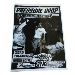 PRESSURE DROP zine / flexi ep - ISSUE 1 - Red